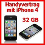 Handyvertrag mit iPhone 4 32GB