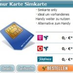 Handyvertrag Sim Card Only