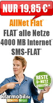Flat Handyvertrag SimOnly mit 4GB Internet